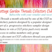 Cottage Garden Threads Collectors Club